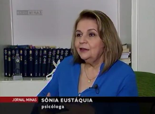 Sônia Eustáquia fala sobre Depressão no Jornal Minas