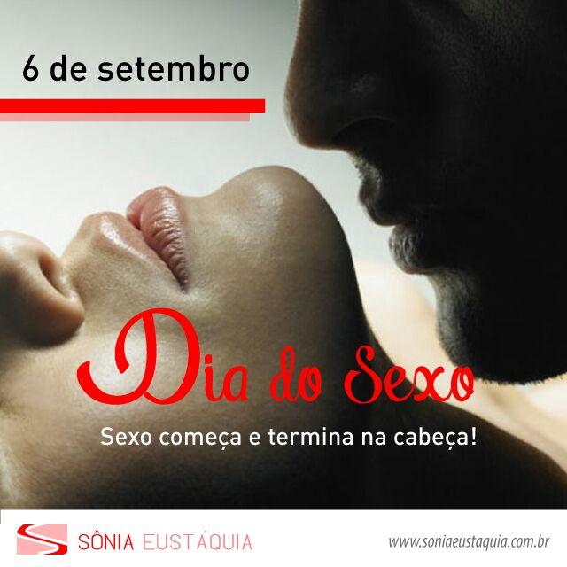 6 de setembro: Dia do Sexo – Entenda porque ele começa na cabeça!